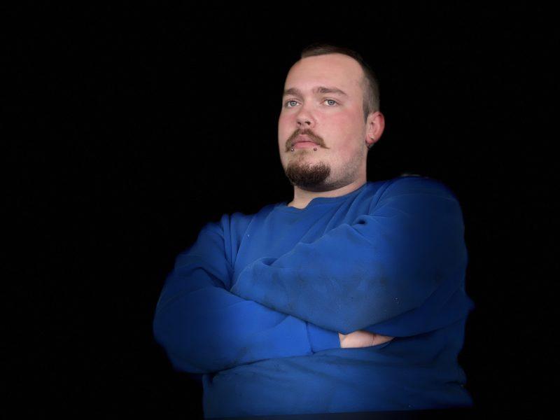 Ferdig utdannet platearbeider Victor Drevsjø
